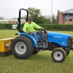 Coring treatment for grass