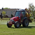 Grass Spraying