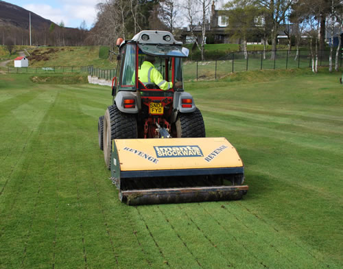 Shockwave ground treatment