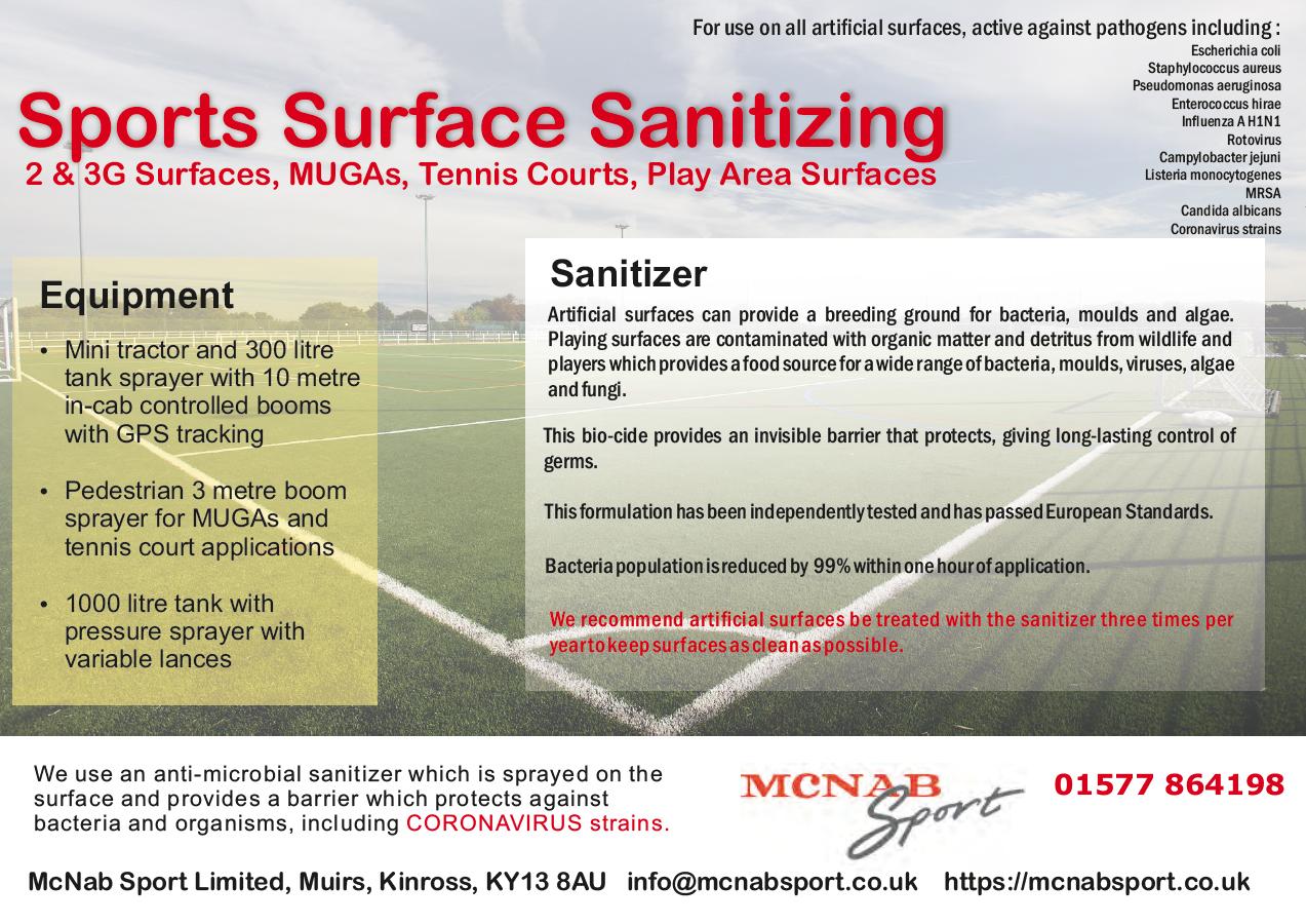 2020.05.04 - Sports Surface Sanitizing Image