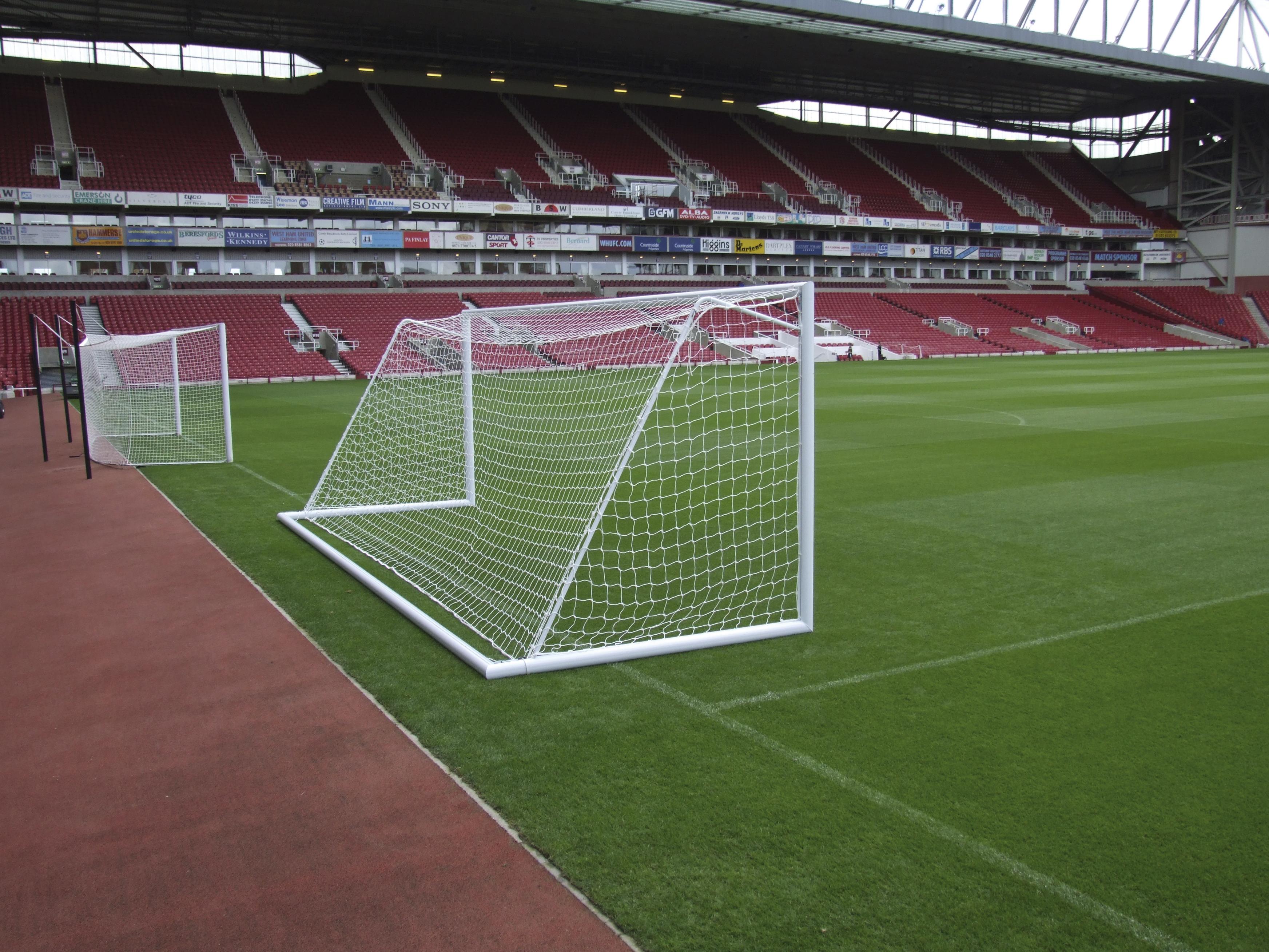 erection of football goals