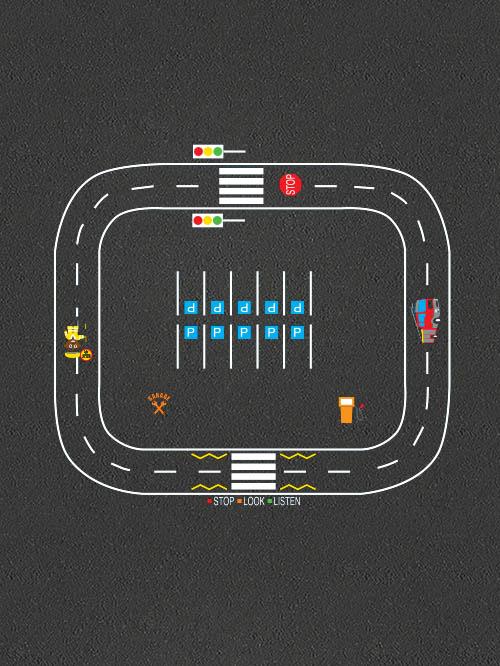 Road Track Set 1