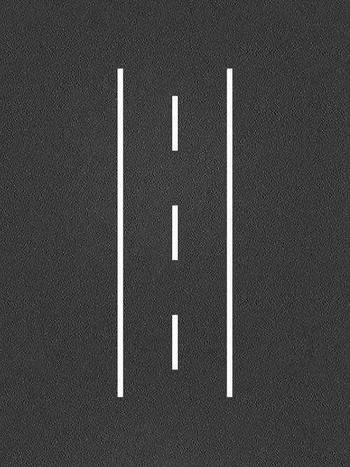Road Track per metre
