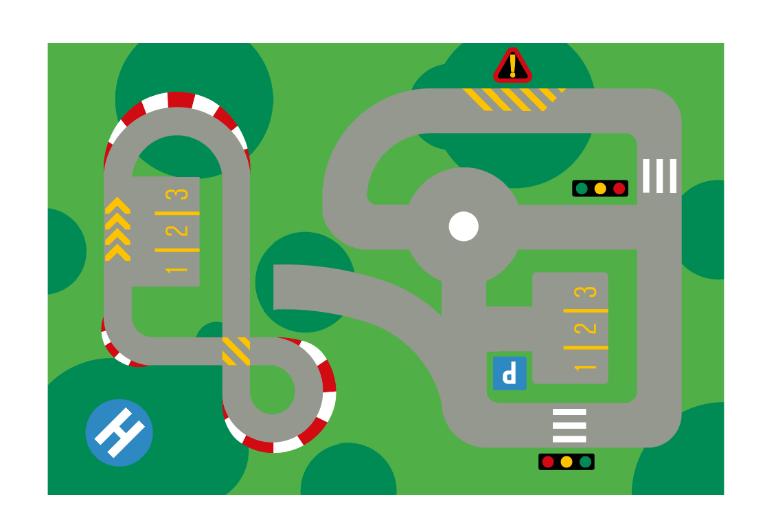 TME019 - Matchbox car track